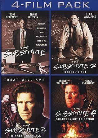 Amazon Com The Substitute 4 Film Pack The Substitute The