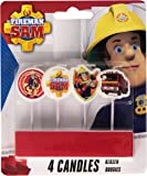 Sam el Bombero - Set de 4 mini-velas (Amscan Inc 68667574)
