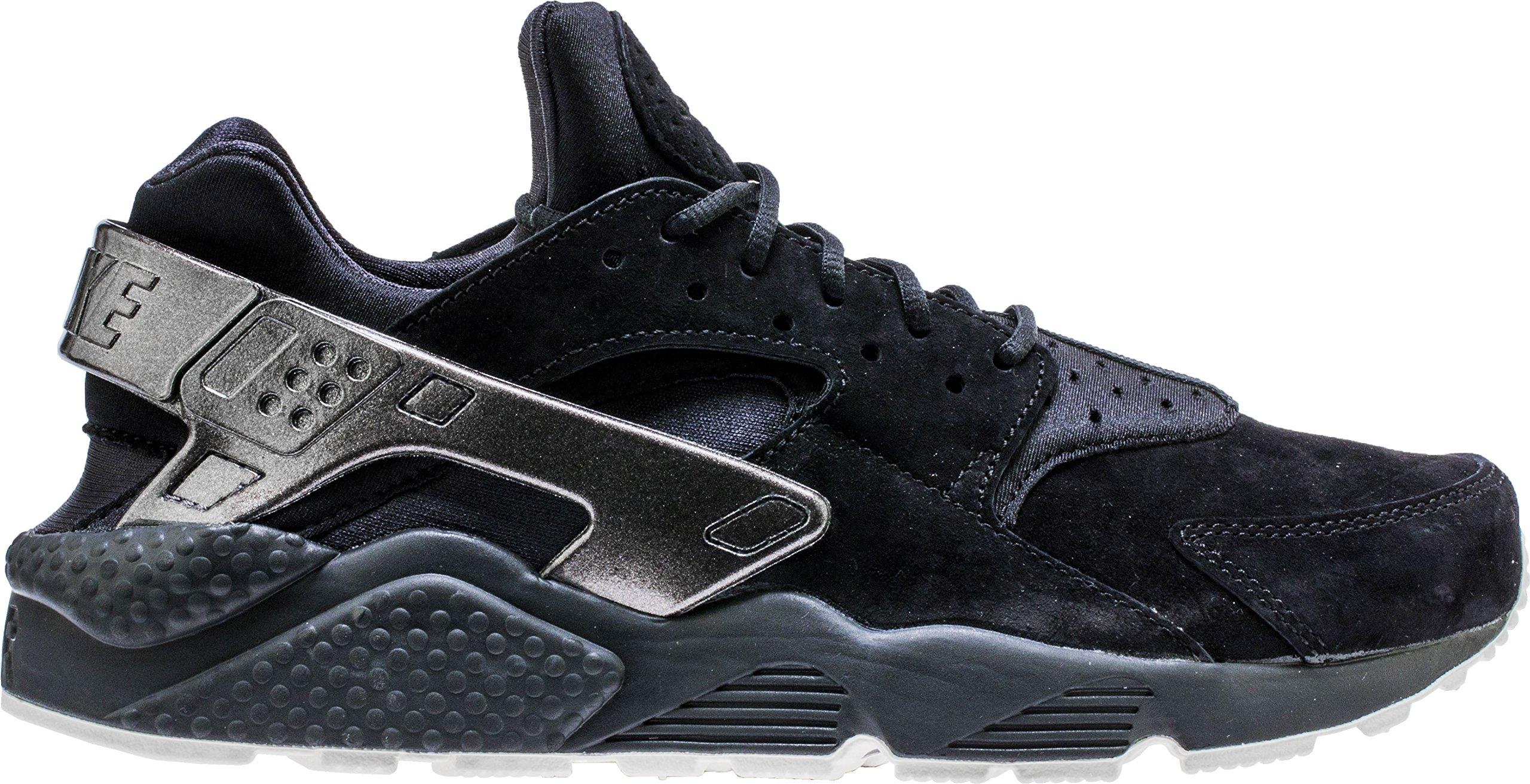 258a346df0f6b Nike Men's Air Huarache Run PRM Black/Black/Sail Running Shoe 11 Men US