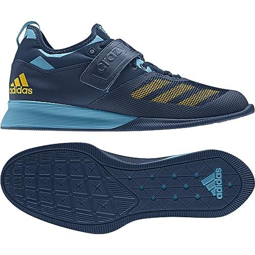 Nero Uomo Adidas Power Sport Ginnastica Pesi Sollevamento