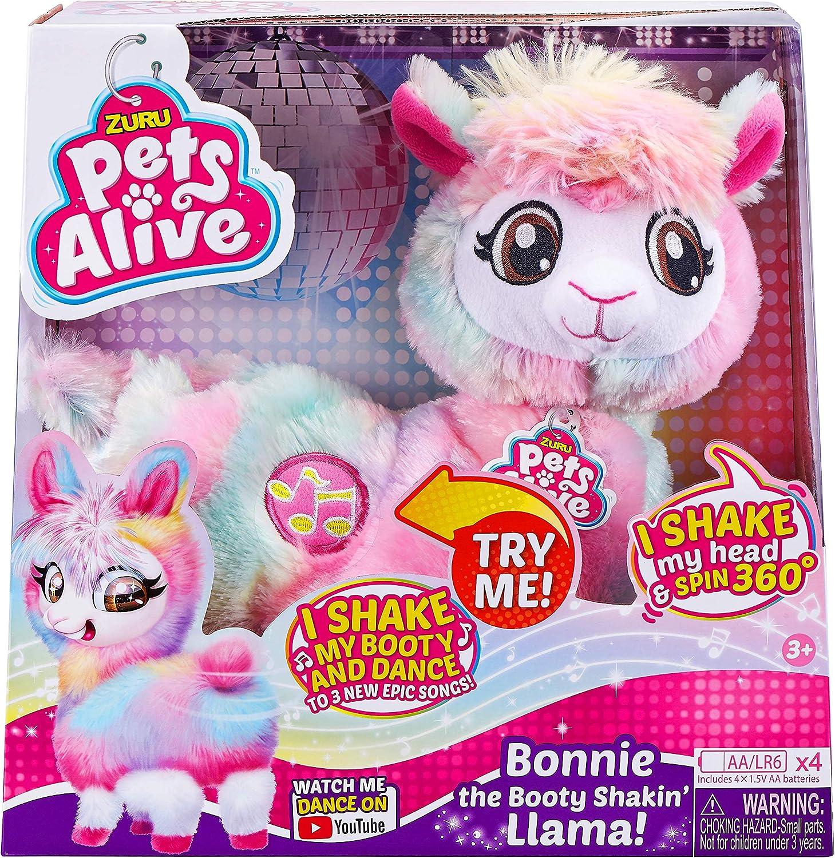 Zuru Pets Alive Rainbow Boppi The Liama The Booty Shakin Robotic Kids Gift New