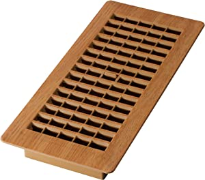 Decor Grates PL410-OC 4-Inch by 10-Inch Plastic Floor Register, Oak Caramel