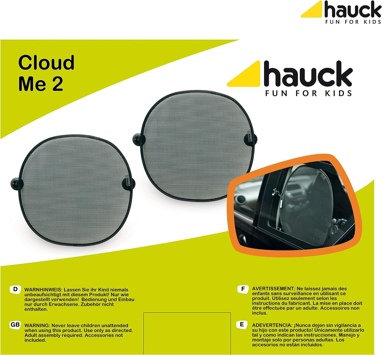 Black Hauck Cloud Me Rear Window Shade
