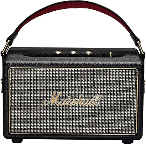 Marshall Kilburn 8 Portable Speakers Wired and Wireless Bluetooth  Speaker (Black)