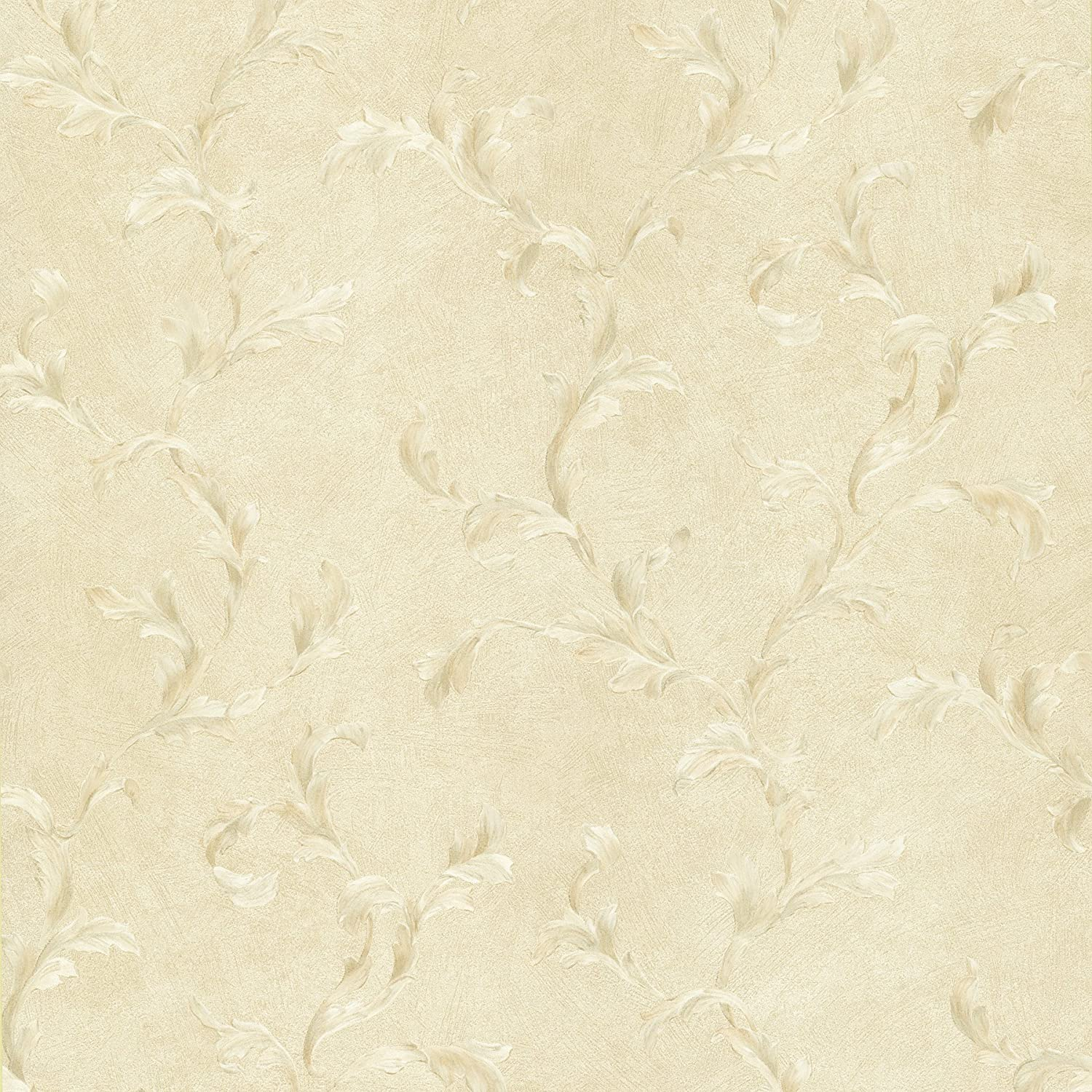 Mirage 987-56557 Traditions IV Fausta Pearl Scroll Wallpaper