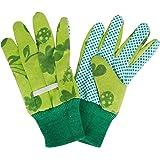 Esschert Design - Gants de jardinage KG10 avec noppes - enfant - vert - env. 11 x 0,9 x 20 cm