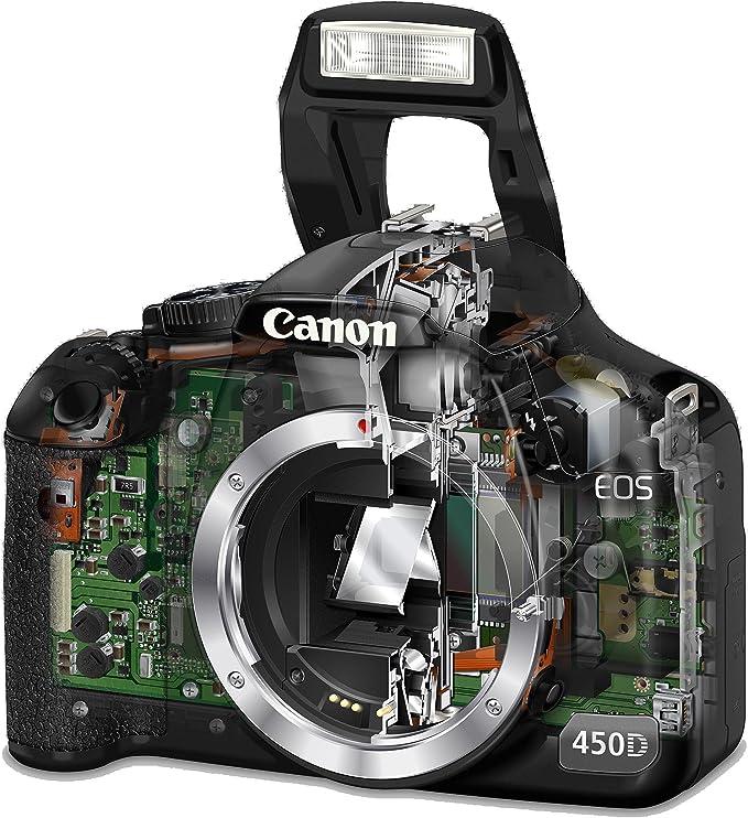 Canon EOS 450D - Cámara Réflex Digital 12.2 MP (Cuerpo): Amazon.es ...