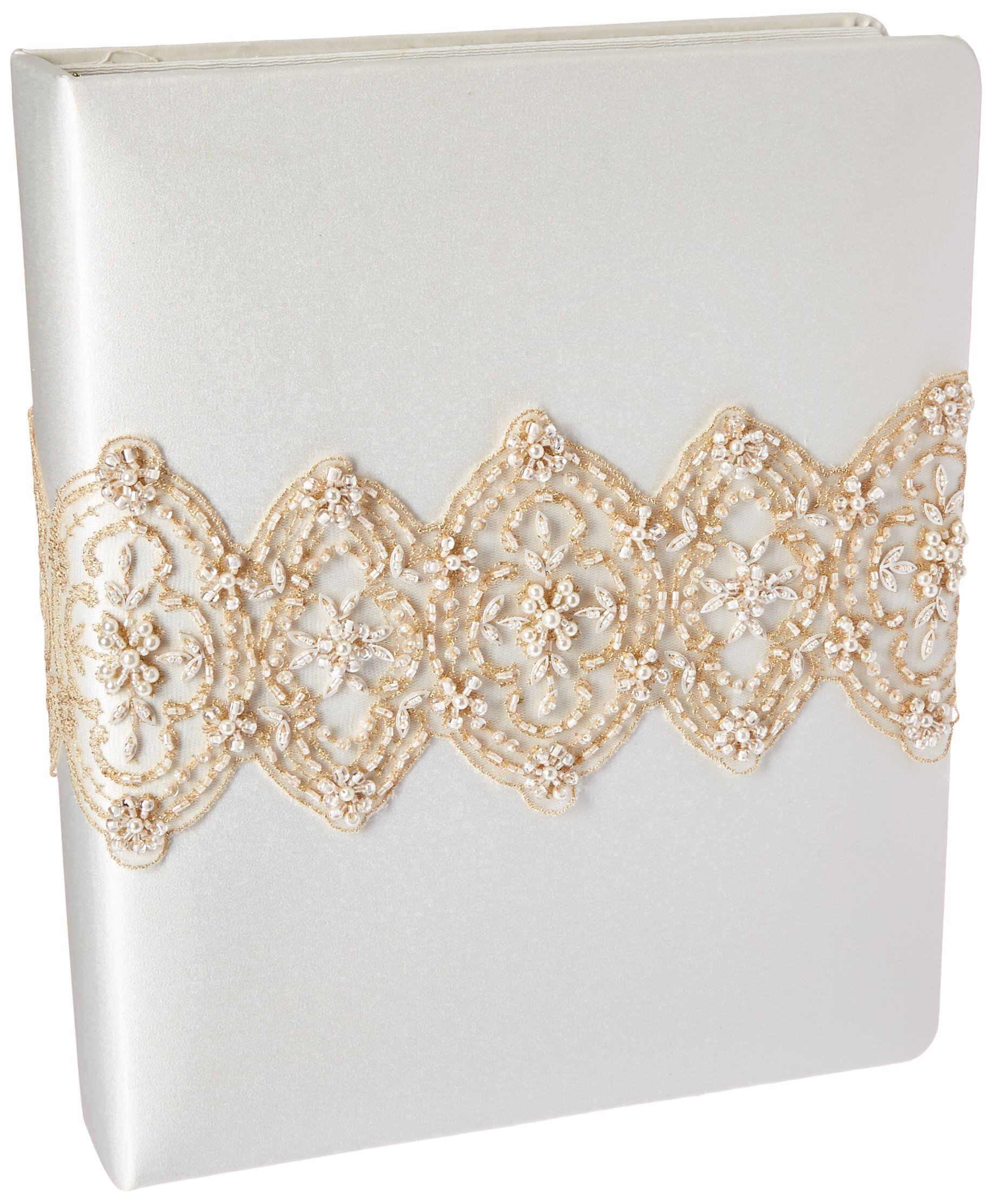 Weddingstar Beverly Clark The Luxe Collection Memory Book, Ivory