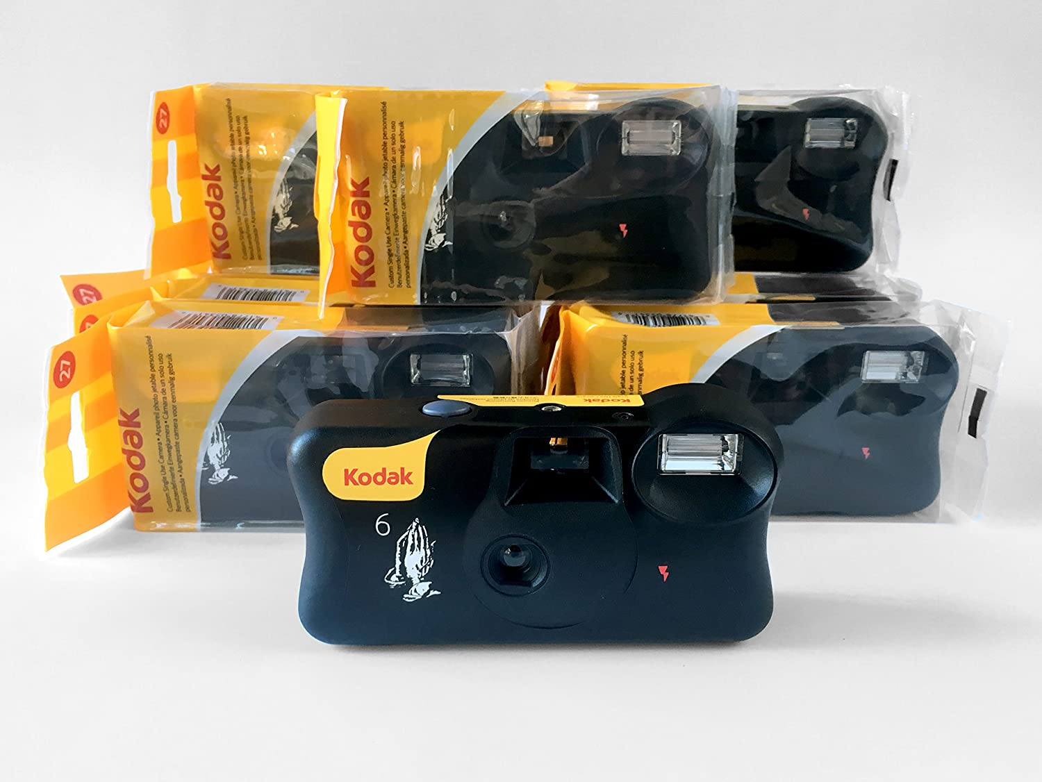Kodak Drake Branded Disposable One Time Use 35mm Camera Flash Circuit Further Photo