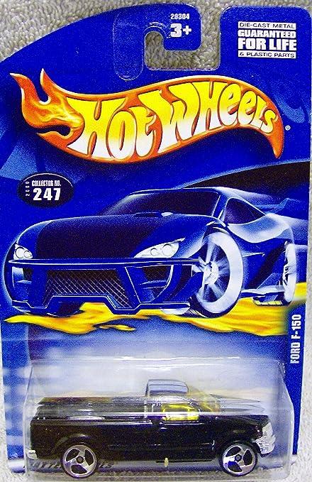 Amazon Com Mattel Hot Wheels 2000 Issue 247 Black Ford F 150 Truck