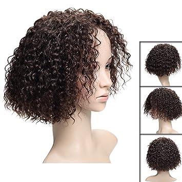 Amazoncom Short Curly Wigs For Black Women Brazilian Human Hair