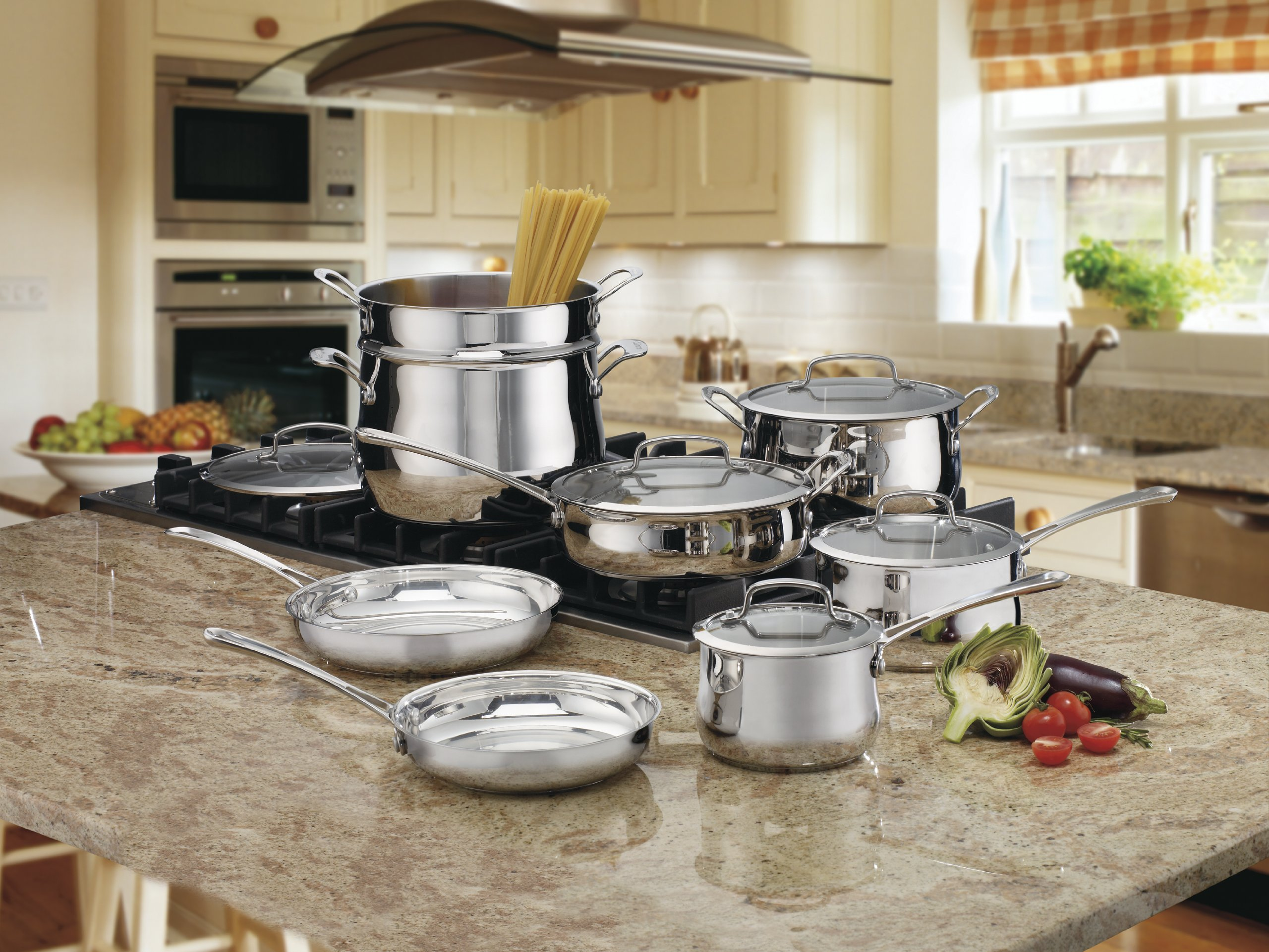 Cuisinart 44-13 Contour Stainless 13-Piece Cookware Set by Cuisinart (Image #2)