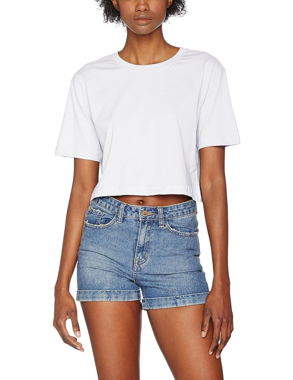 Urban Classics Damen T-Shirt Ladies Short Oversized Tee TB1555