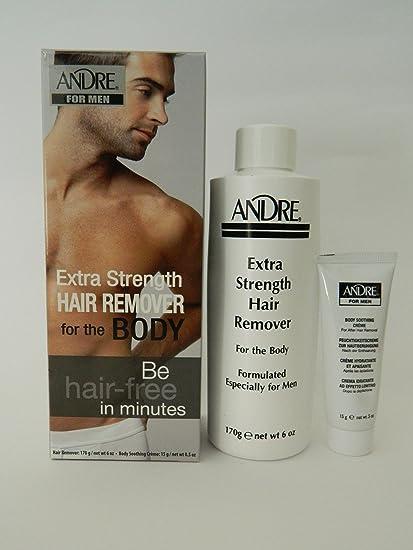 Andre extra Strength Eliminador de pelo para hombres