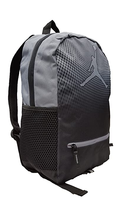 d77f5fd94b9 Amazon.com: Nike Jordan Jumpman Youth Backpack (One Size, Cool Grey): Sports  & Outdoors