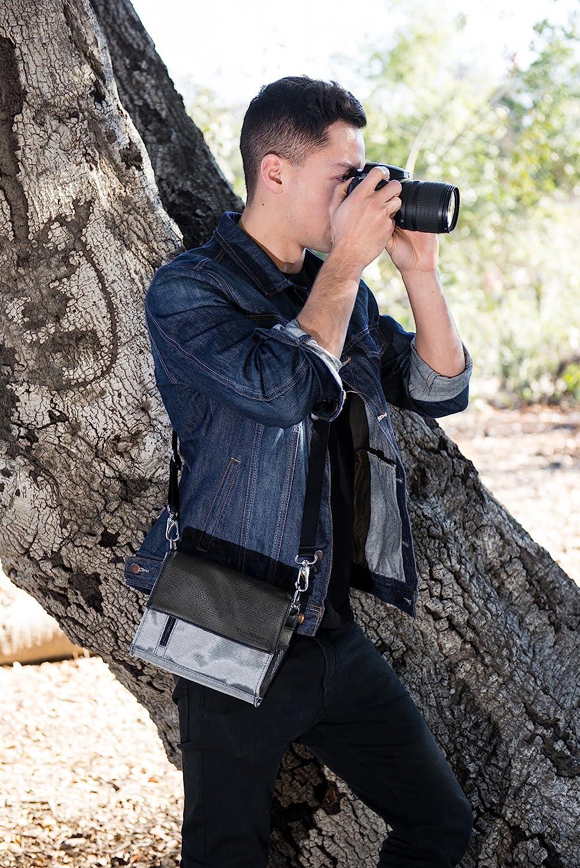 Navy Blue Camera Carrying Case Bag for Panasonic LUMIX GX8 GX85 G95 G90 G91 GF10 GH5 GH5s GX850 GF9 GX800 GX9 GX950 GX900 LX100 II TZ70 TZ90 ZS200 TZ200 ZS70 ZS80