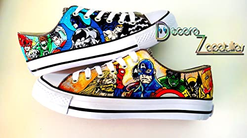 Marvel zapatillas customizadas personalizadas - superheroes ...