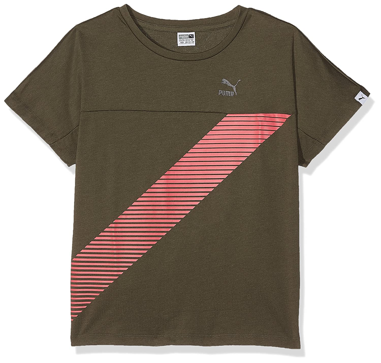 Puma Children's Evo Trend Tee T-Shirt PUMA (PUMAE)