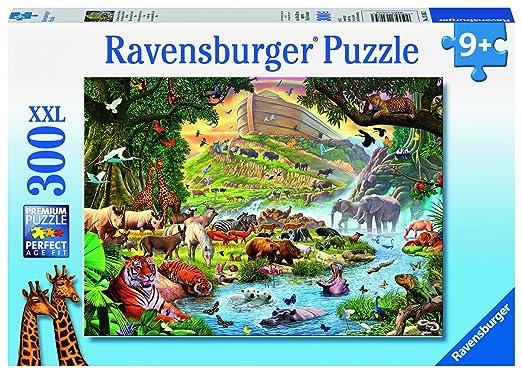 5 opinioni per Ravensburger 13185 3- Gli Animali dell'Arca di Noè Puzzle, 300 Pezzi, Cartone