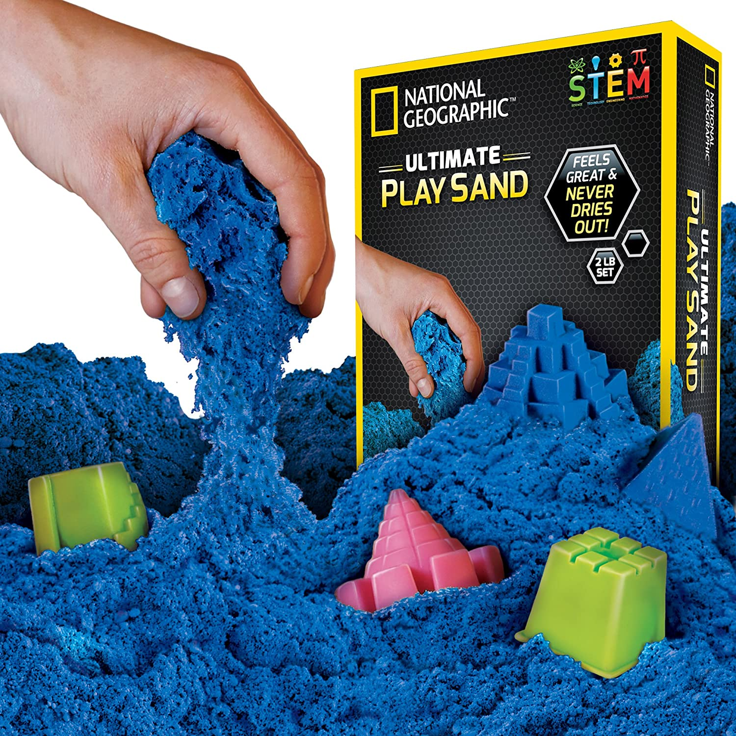 NATIONAL GEOGRAPHIC  Kinetic Play Sand
