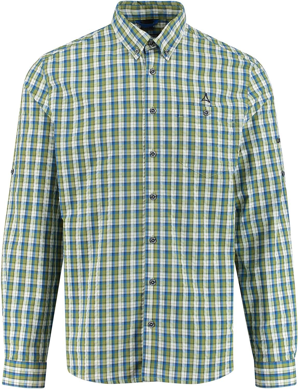 Sch/öffel Herren Kuopio2 Uv Lg Shirt