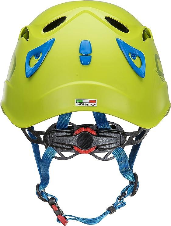 Tecnología de escalada Galaxy, casco unisex - adulto, verde / azul claro, ajustable de 50-61 cm