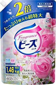 Japan Household Cleaning Supplies - [Capacity] Fragrance New Beads Laundry Detergent Liquid Gel Refill 1460g *AF27*
