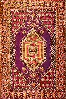 Mad Mats Oriental Turkish Indoor/Outdoor Floor Mat, 5 By 8 Feet,