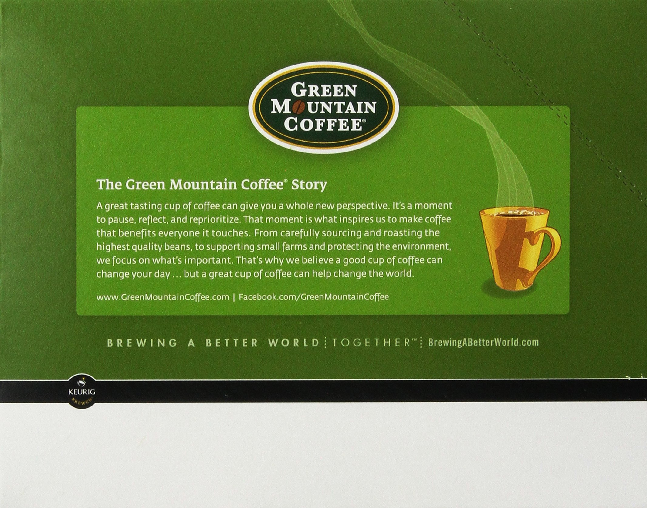 Green Mountain Coffee K-Cup Portion Pack for Keurig K-Cup Brewers, Sumatra Reserve (Pack of 96) by Green Mountain Coffee