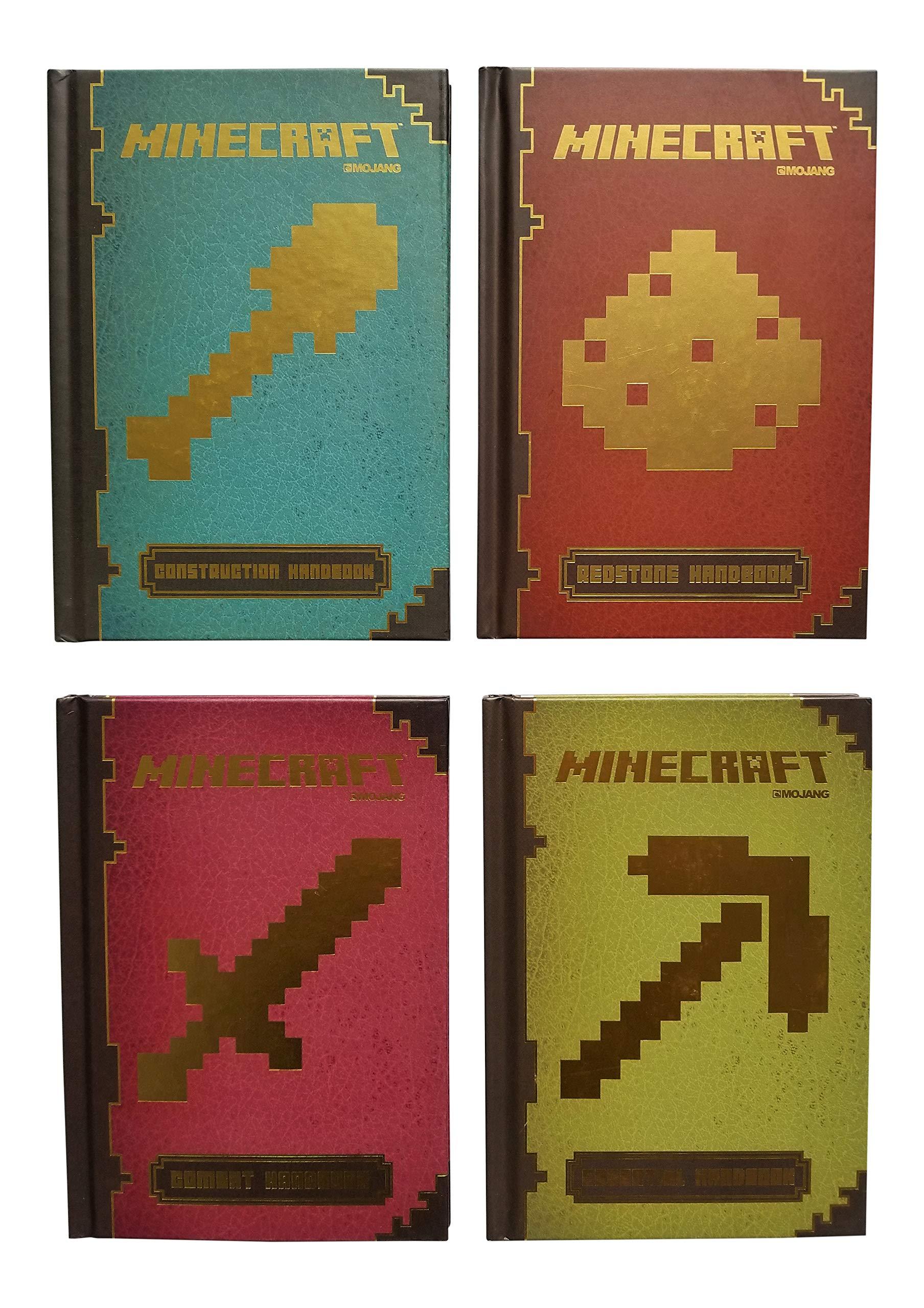 Minecraft 12 Book Builders Strategy Guide Bundle - Redstone, Combat