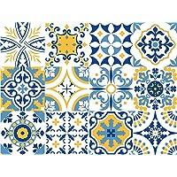 Vinilo decorativo autoadhesivo con diseño de azulejos portugueses