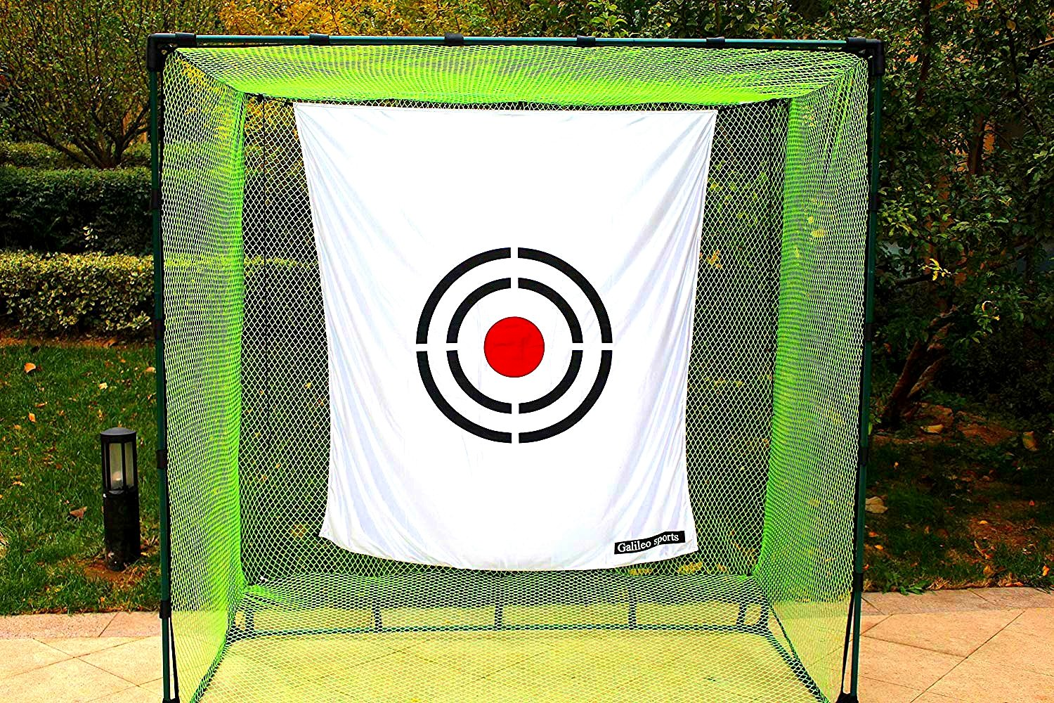 Galileo Golf net target 5'x6'/Training Aid Driving Range Target| Target Backstop (Circle)