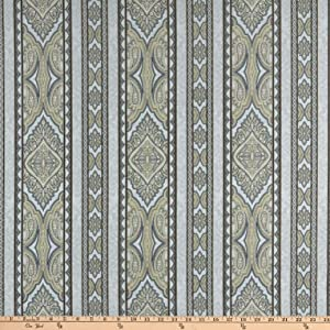 Jinny Beyer Aruba Digital Border Gray Taupe Quilt Fabric By The Yard