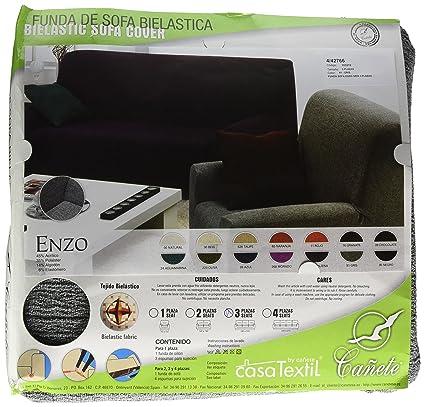 Casa Textil Fundas de Sofa, Acrílico, Gris, Tres_plazas