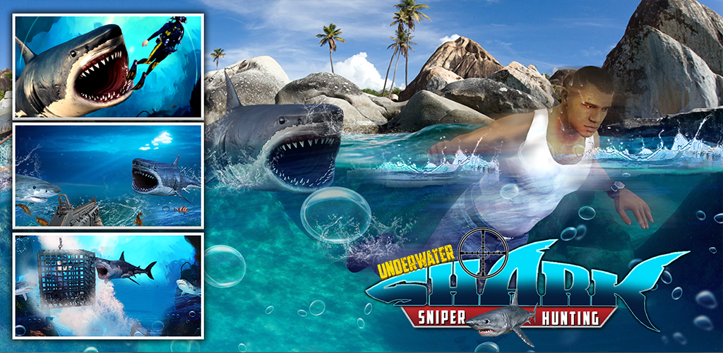 Review Underwater Shark Hunting Games