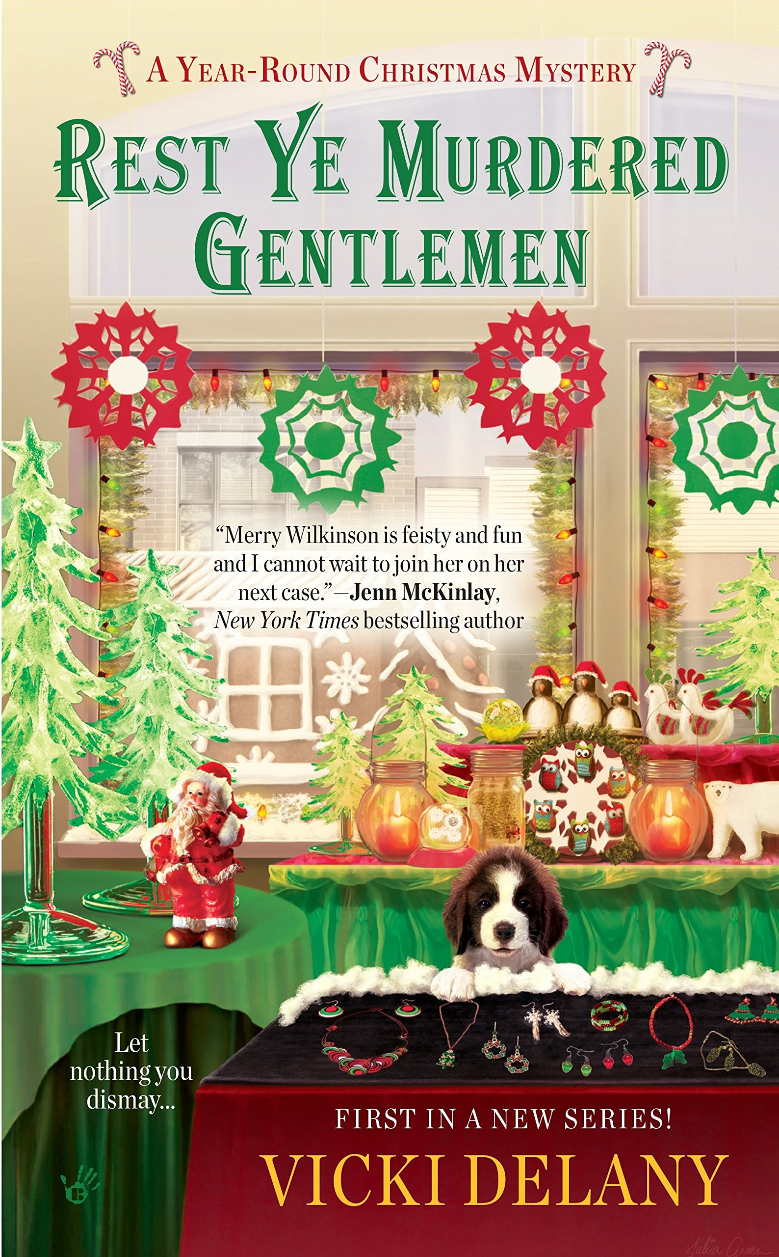 Read Online Rest Ye Murdered Gentlemen (A Year-Round Christmas Mystery) pdf epub