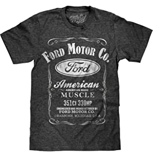 a8f34576 Tee Luv Ford American Made Muscle Shirt - Licensed Ford Motor Company Shirt