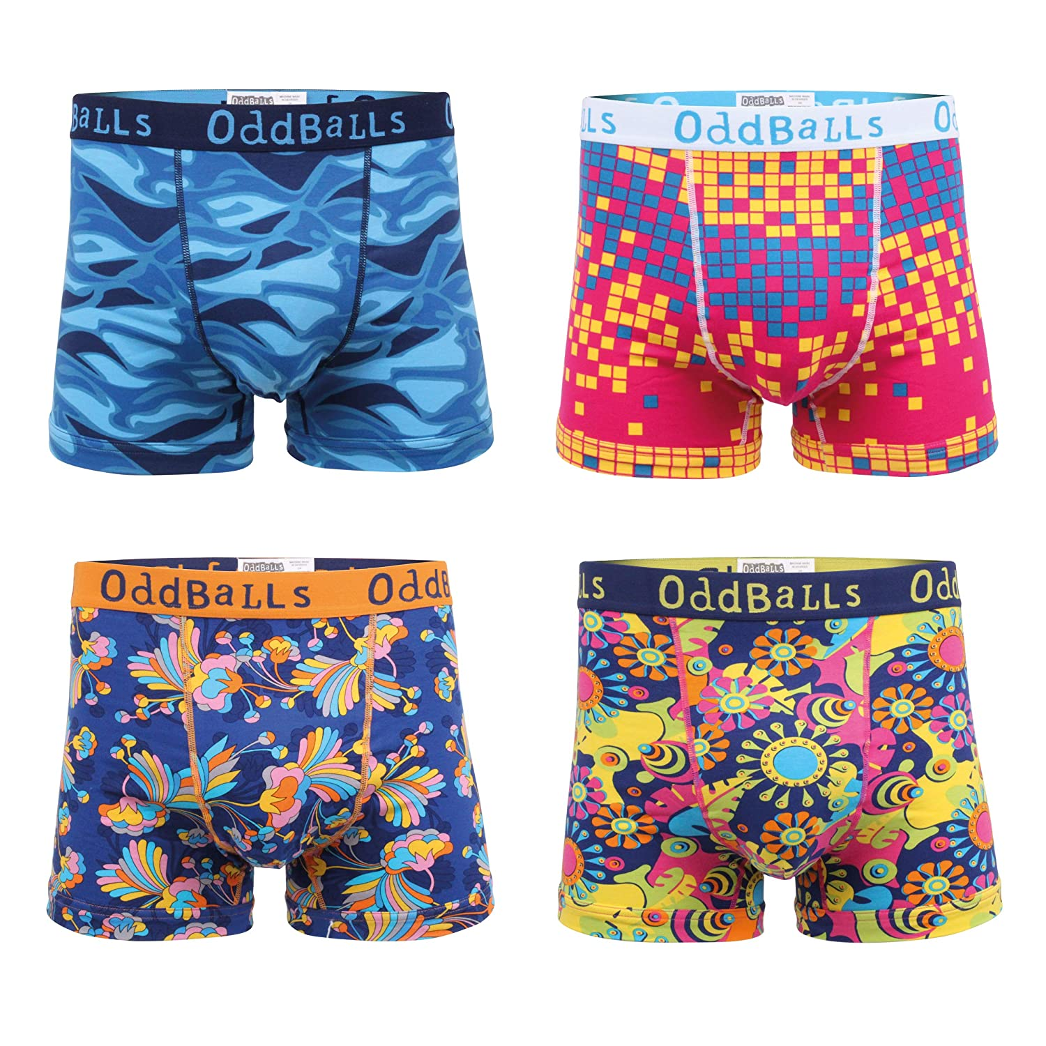 OddBalls Summer Bundle Mens Boxer Shorts