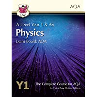 A-Level Physics for AQA: Year 1 & AS Student Book with Online Edition (CGP A-Level Physics)