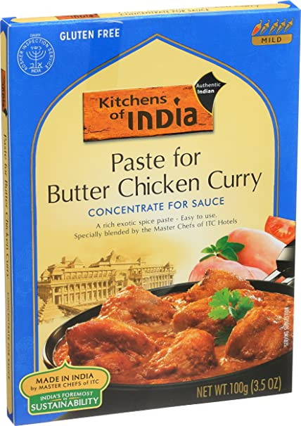Good Amazon.com : Kitchens Of India Paste For Butter Chicken Curry, 3.5 Ounce  Boxes (Pack Of 6) : Curry Sauces : Grocery U0026 Gourmet Food