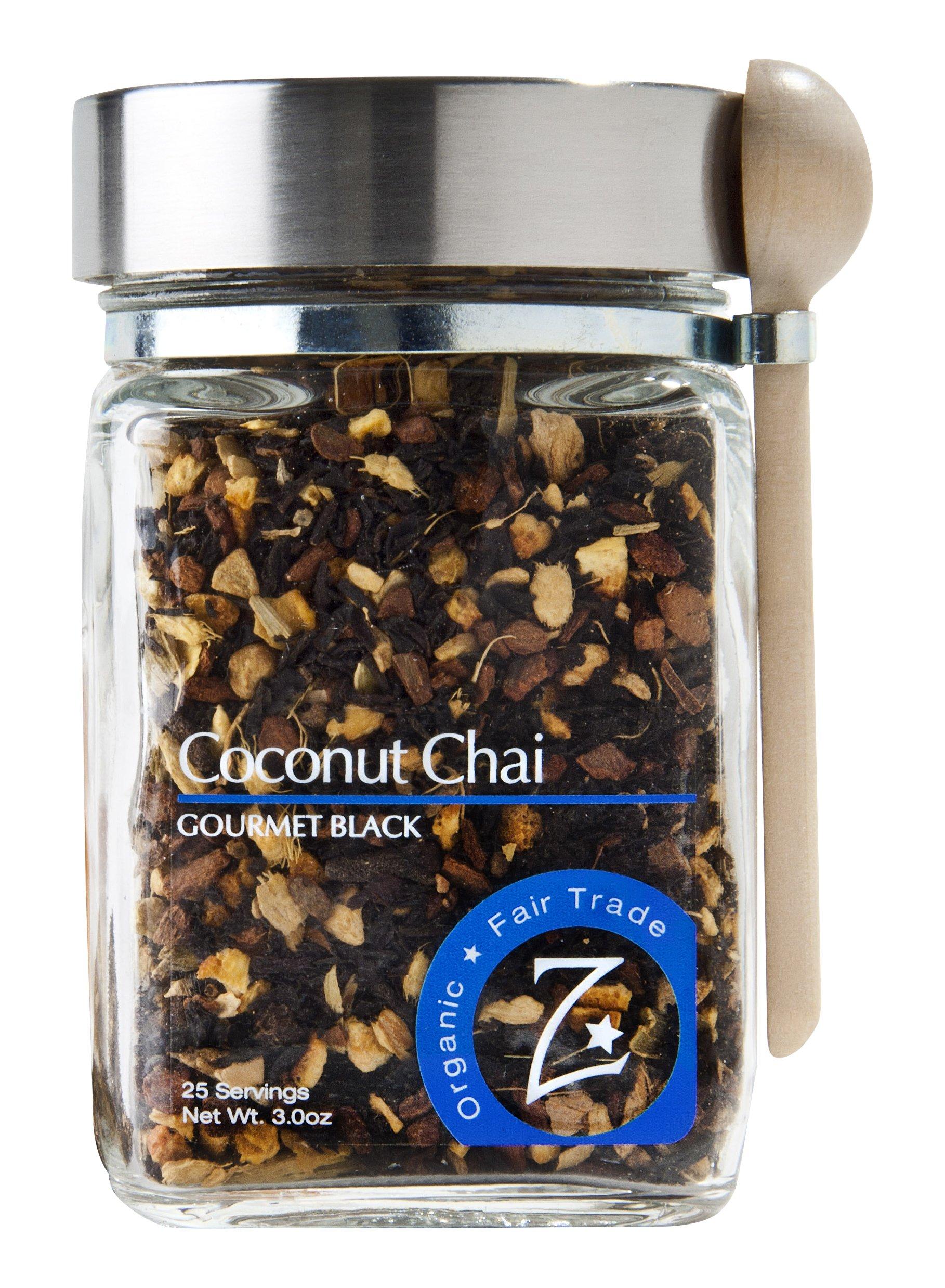 Zhena's Gypsy Tea Black Tea, Coconut Chai, 3.0 Ounce by Zhena's Gypsy Tea