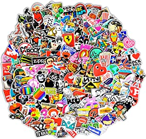 200-Pcs Featured Stickers(50~500 Pcs/Pack),Suitable for children and adults of all ages,Fast Shipped by Amazon. Decals Vinyls for Laptop,Kids,Cars,Motorcycle,Bicycle,Skateboard Luggage,Bumper