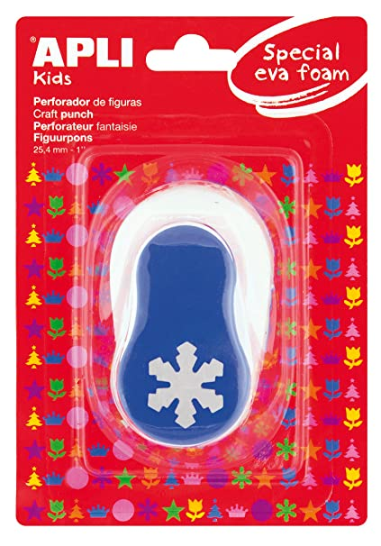 3e0388560bd APLI Kids 13302 - Perforadora especial goma EVA copo nieve