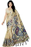 Rani Saahiba Women's Art Silk Saree with Blouse Piece