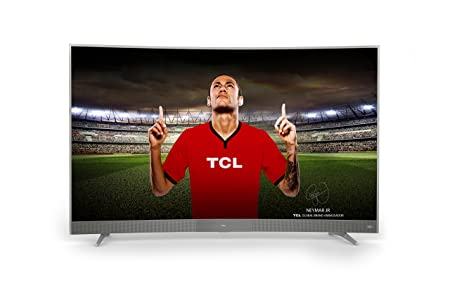 TCL U55P6096 140 cm (55 Zoll) Curved Fernseher (UHD, Triple Tuner, Smart TV, Android)