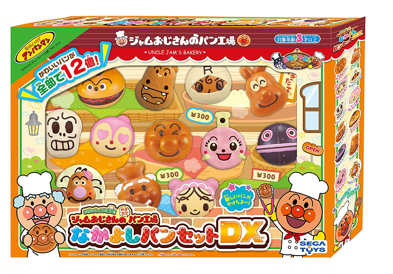 Anpanman Hello! fresh my uncle jam fresh Hello! bread factory Nakayoshi pantsuit DX 02a6ab