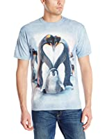 The Mountain Unisexe Adulte Coeur Pingouin T Shirt