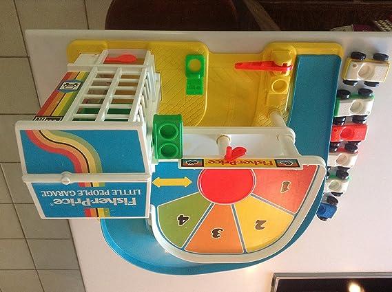Garage Little People : Amazon.com: vintage fisher price little people garage 1990: toys & games