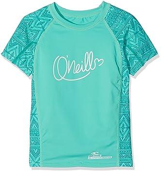 O'Neill Active Print Skin UV shirts S Pink Aop with Grün Jeu Manchester Nice Vente En Ligne Expédition Faible Redevance De Prix À La Vente j9Pz64luE