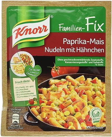 Ganz und zu Extrem Knorr Fix Paprika-Mais Nudeln mit Hähnchen, 23er-Pack (23 x 4 #WH_91